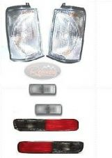 LAND ROVER DISCOVERY 2 FRONT SIDE & REAR CLEAR INDICATOR LIGHT LAMP KIT